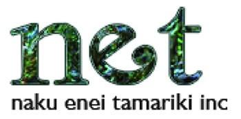 NET Naku Enei Tamariki colour logo